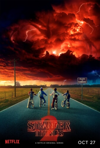 Stranger Things 2 - Netflix (2017)